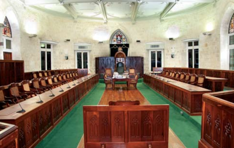 The Houe of Assembly of Barbados