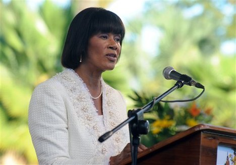 The Most Hon. Portia Simpson Miller